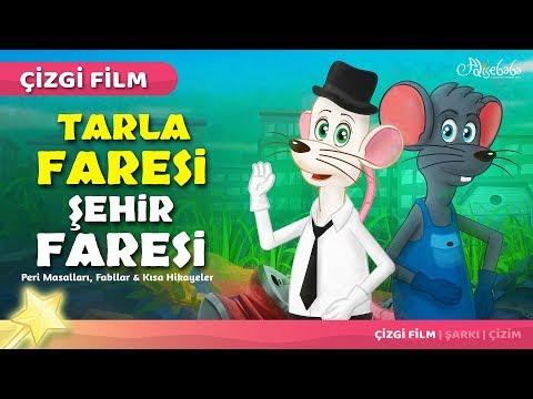 Adisebaba Çizgi Film Masallar - Tarla Faresi ve Şehir Faresi
