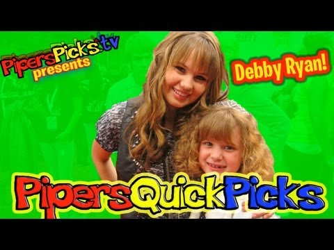 Debby Ryan Interview Suite Life on Deck Meets Professional Tween Reporter Piper Reese! (PQP 003)