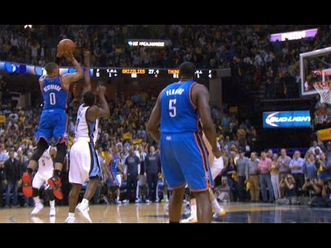 Video: Russell Westbrook's CLUTCH Game-Tying Four-Point Play!