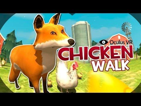 """Oculus Rift: Chicken Walk Gameplay """"Zorra Sádica"""""""