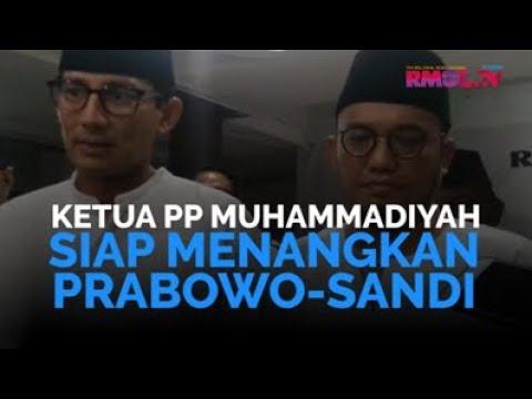 Ketum PP Muhammadiyah Siap Menangkan Prabowo-Sandi