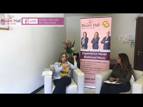 Fertility Chat with Dr Diana Kayal on Facebook Live
