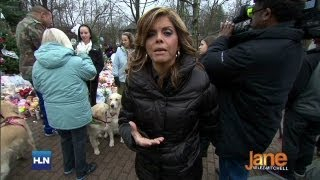 Service Dogs Bring Comfort To Newtown