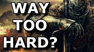 Are HARD Video Games BAD For Gaming? NO!