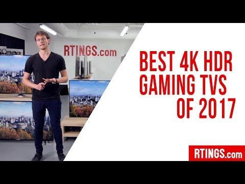 Best 4k HDR Gaming TVs of 2017