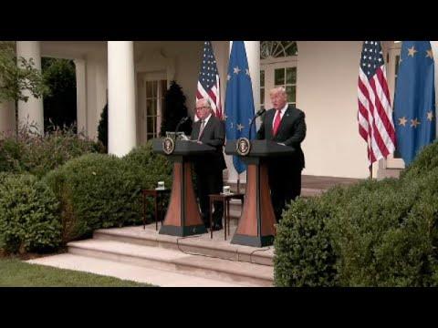 Θετικά υποδέχθηκε η Ευρώπη τη συμφωνία Τραμπ-Γιούνκερ