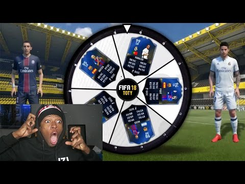 FIFA 18 NEW GAME MODE ??? TOTY SPIN THE WHEEL (FIFA 17 ULTIMATE TEAM)