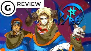 Is Supergiant Game's Pyre a shot in the dark or a slam dunk? Find out in this GameSpot review!Subscribe to GameSpot! http://youtube.com/GameSpot?sub_confirmation=1Visit all of our channels:Features & Reviews - http://www.youtube.com/GameSpotVideo Game Trailers - http://www.youtube.com/GameSpotTrailersMovies, TV, & Comics - http://www.youtube.com/GameSpotUniverseGameplay & Guides - http://www.youtube.com/GameSpotGameplayMobile Gaming - http://www.youtube.com/GameSpotMobileLike  - http://www.facebook.com/GameSpotFollow - http://www.twitter.com/GameSpothttp://www.gamespot.com