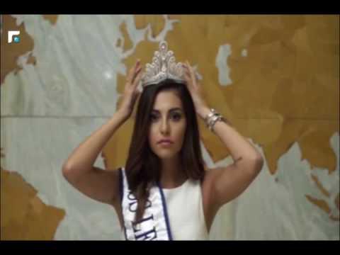 ملكة جمال لبنان 2015 فاليري ابو شقرا في رسالة مؤثرة....انتخبوا رئيس للجمهورية!