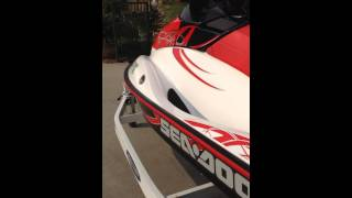 7. 2009 Seadoo 155 Wake Edition 4-Tec