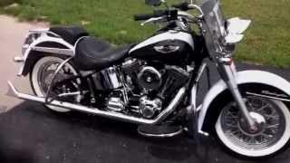 7. 2008 Harley Davidson  Softail Deluxe FLSTN
