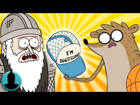 Regular Show References to Movies, TV, Star Wars + MORE! (Tooned Up S4 E28)