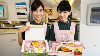 Video $4,752 FIRST CLASS / BUSINESS CLASS Hello Kitty Plane on Eva Air Royal Laurel MP3, 3GP, MP4, WEBM, AVI, FLV Juli 2018