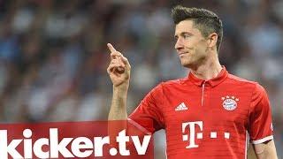 Ist Robert Lewandowski im Bayern-Sturm ohne Konkurrenz? Das sieht er selbst anders. Am Rande der Asien-Tour spricht er über seine Rolle, Borussia Dortmund und seine innere Unruhe im Urlaub.