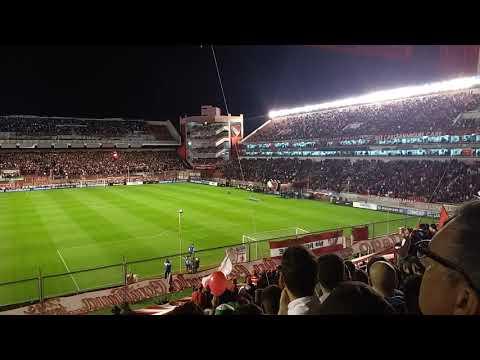 Recibimiento Independiente 2 vs atl.Tucuman 0 COPA SUDAMERICANA 2017 - La Barra del Rojo - Independiente