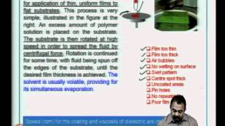 Mod-06 Lec-26 Photoresist And Application Methods,UV Exposure And Developing