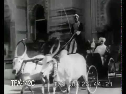 Rare Video of Maharaja SayajiRao Gaekwad of Baroda (Baroda)