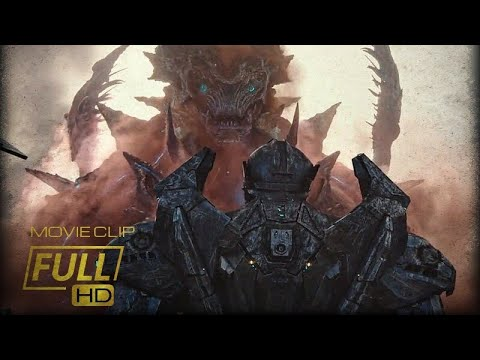 Mega Kaiju vs Jaegers|Pacific Rim Uprising [Fight Scene]
