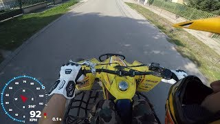 7. Szuzuki LTR 450(with RMZ 450 Engine) First Test