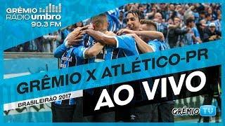 Confira a transmissão da Grêmio Rádio Umbro 90.3FM de Grêmio e Atlético-PR na Arena do Grêmio. A partida é válida pela 21ª...
