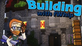 Building with fWhip :: CASTLE STABLES :: #58 Minecraft 1.12 Single Player Survival