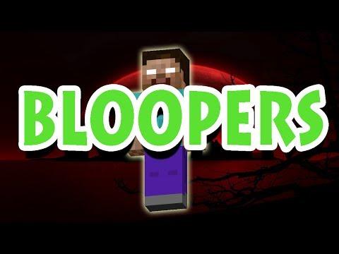 Minecraft Horror Movie BLOOPERS