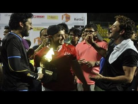 Abhishek Bachchan - Bollywood came out in full strength to support Ira Khan, Aamir Khan's teenage daughter's charity football match. We spotted actors like Aamir Khan, Hrithik R...