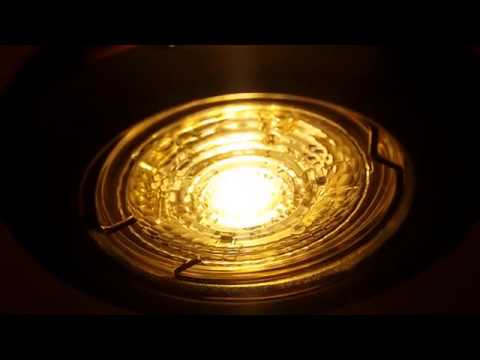Свист светодиодной лампы Osram Led Star Par16 80 GU10 2700K