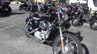6. 446298 - 2004 Harley Davidson Sportster 883 Custom XL883C - Used Motorcycle For Sale