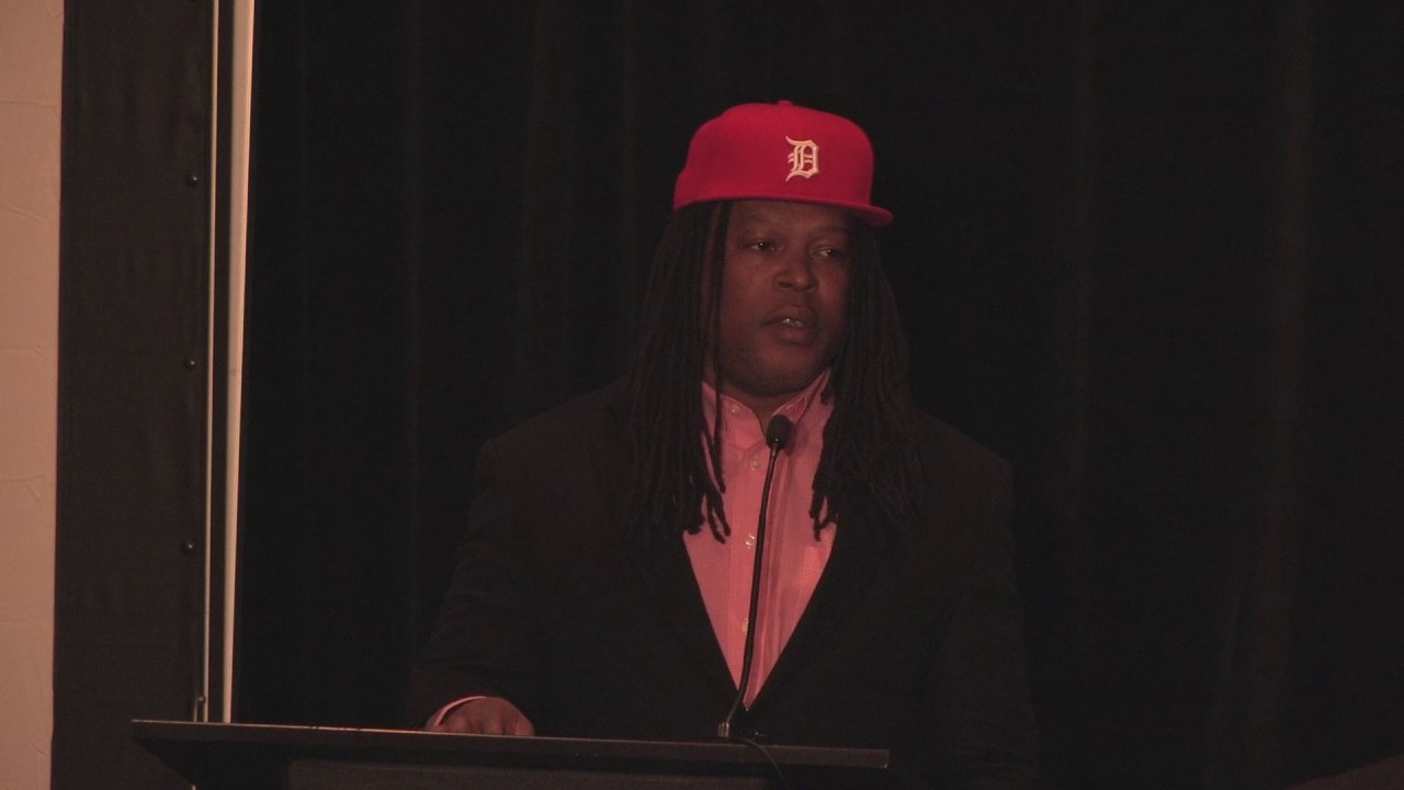 Shaka Senghor at the 2017 FYE Conference