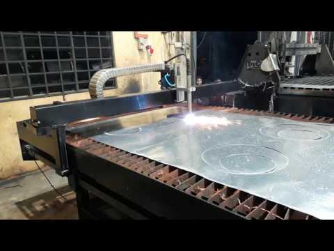 CUTSYS CNC Plasma HVAC Sheet Metal Cutting
