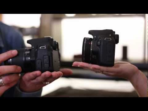Canon EOS 100D and EOS 700D - First Look
