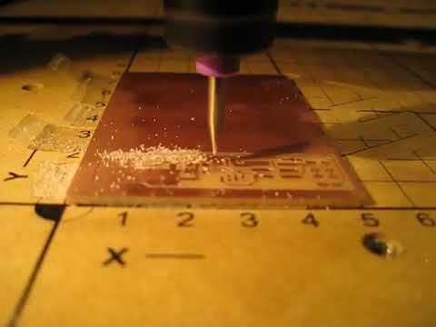 Video: Stub Milling a Circuit board @ 46IPM