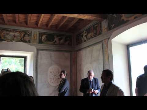 Anteprima del restauro del Chiostro del Monastero di Cairate