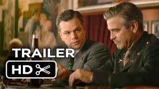 The Monuments Men Official Trailer #2 (2013) - George Clooney, Matt Damon Movie HD