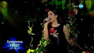 Hristiana Loizu videoclip Je T'aime (On The X-Factor Bulgaria) (Live)