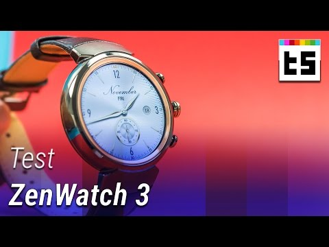 ASUS ZenWatch 3: Runde Smartwatch mit Android Wear – Test