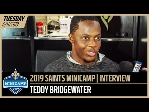 Teddy Bridgewater Taking Advantage of Opportunity at Saints Minicamp 2019 | New Orleans Saints
