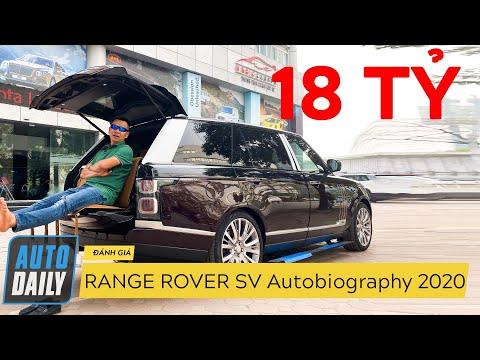 Range Rover SV Autobiography 2020 có những trang bị SIÊU SANG gì? @ vcloz.com