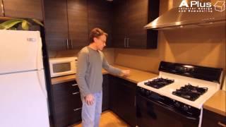 APlus Sophia Line Cabinets on a Kitchen Remodel in Yorba Linda by APlus Kitchen & Bath
