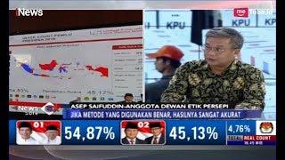 Video Buka-bukaan Data Survei, Asep Saefudin: Hasil Quick Count 99 Persen Akurat - iNews Sore 20/04 MP3, 3GP, MP4, WEBM, AVI, FLV April 2019