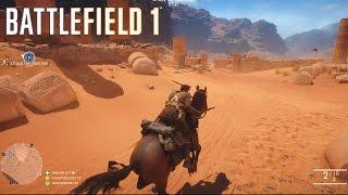15 KILLSTREAK ON A HORSE?! - BATTLEFIELD 1 MULTIPLAYER GAMEPLAY