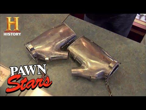 Pawn Stars: Seller Makes Bank on Rare Antique Handcuffs (Season 1) | History