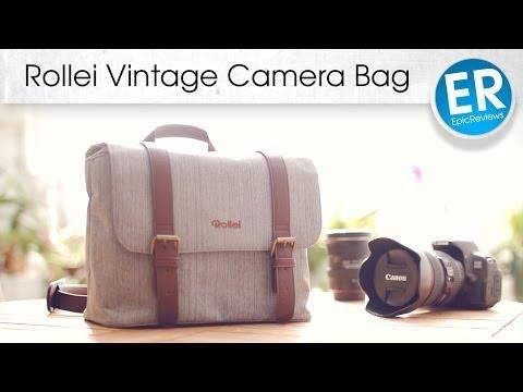 Stylische Kameratasche: Rollei Vintage Bag im Test!