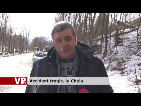 Accident tragic, la Cheia