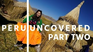 Welcome to part two! Just outside of Puno, we visit Lake Titicaca for an unforgettable experience! The floating islands of Uros are made entirely of reeds and are fully sustainable. It was definitely a highlight of my entire trip to Peru. Hope you enjoy and don't forget to like the video and subscribe for more Peru Uncovered travel vlogs.XOKyra MiosoFollow me:Instagram: www.instagram.com/KyramiosoSnapchat: KyramiosoTwitter: www.twitter.com/Kyramiosokyramioso29