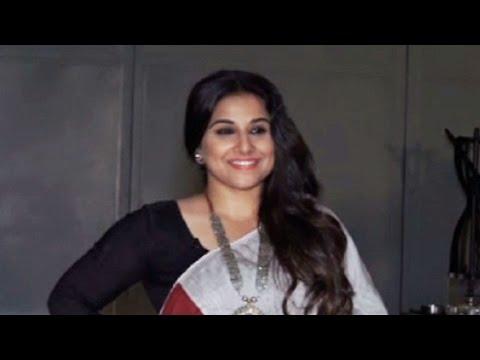 Vidya balan Snapped Promoting Begum Jaan