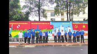 Thành Đoàn Uông Bí: gắn biển công trình thanh niên cấp tỉnh