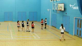 Teaching KS3 Netball - 8. Taking the Ball to the Circle Edge