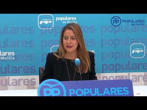 """El PP invita a participar y colaborar, """"para hacer de Melilla una ciudad más accesible cognivamente"""""""
